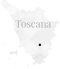 Toscana map
